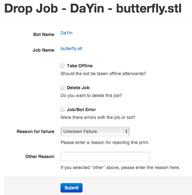 Drop Job - DaYin - butterfly.stl __ BotQueue.com